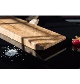 LARCH WOOD LARCH WOOD KI CUTTING BOARD # 1 - MEDIUM