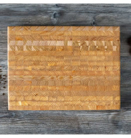 LARCH WOOD LARCH WOOD CUTTING BOARD - MEDIUM - #1