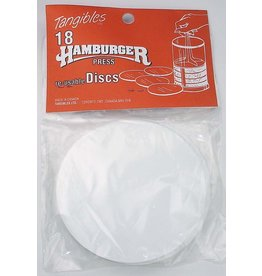 David Shaw Tableware Tangibles Hamburger Reusable Divider Discs Pack of 18