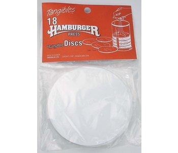 Tangibles Hamburger Reusable Divider Discs Pack of 18