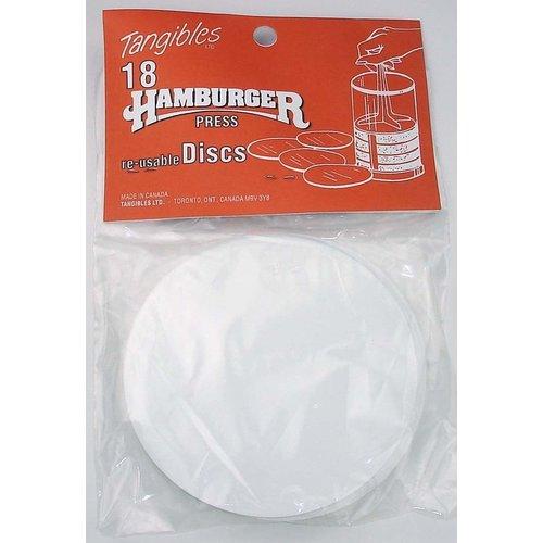 Tangibles Tangibles Hamburger Reusable Divider Discs Pack of 18