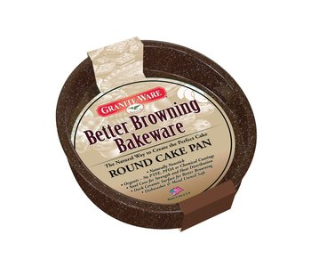 Cake Pan Round Better Browning