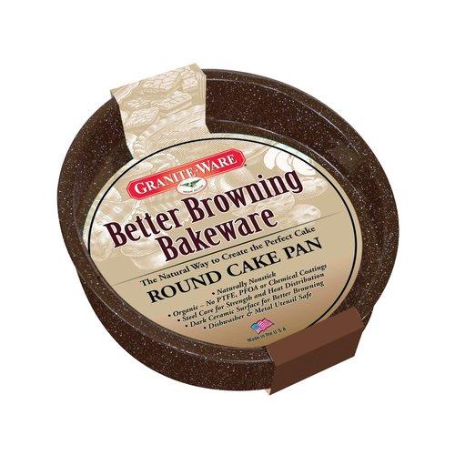 Graniteware Cake Pan Round Better Browning