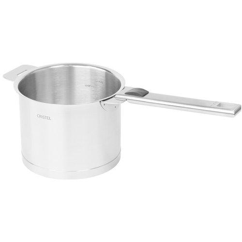 Cristel USA Inc. CRISTEL Saucepan TALL / Milk pot 1.5qt with Lid