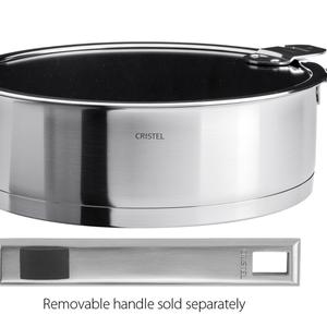 Cristel USA Inc. CRISTEL 24cm saute pan Non-Stick with LID