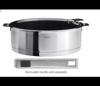 CRISTEL 24cm saute pan Non-Stick with LID