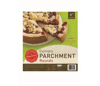 """PaperChef Parchment Pre-Cut 8"""" Rounds"""