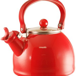 Reston Llyod Whistling Kettle Red 2.2qt