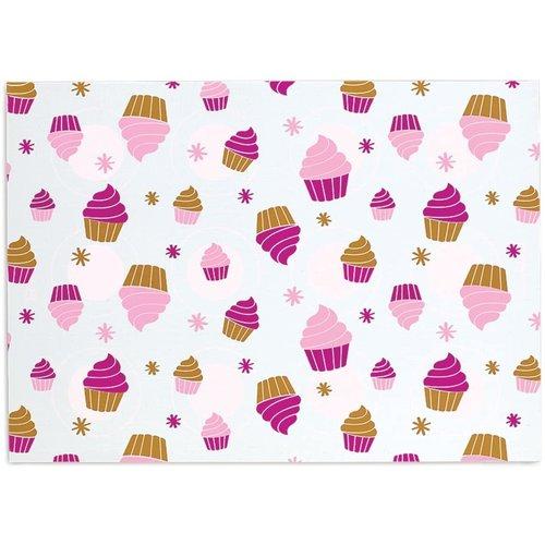 Fox Run SILICONE MAT Cupcake/Cookie 2- sided
