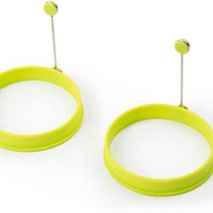 Fox Run Silicone Egg Ring/Lime Green