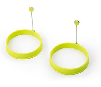 Silicone Egg Ring/Lime Green