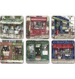 Pimpernel Coasters Cafe de Paris Pimpernel Set/6