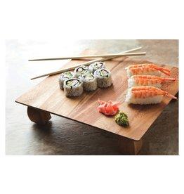 Fox Run Sushi plate Acacia