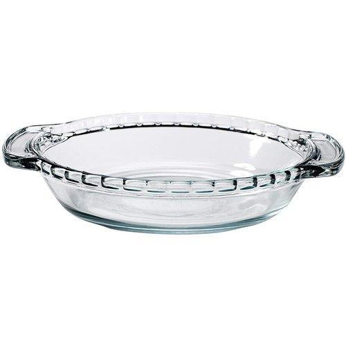 "Anchor Hocking PIE Dish Glass Mini 6"""
