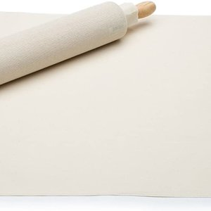 Fox Run Pastry cloth and Rolling Pin cover set