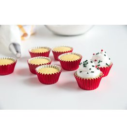 Fox Run Bake cups red foil mini