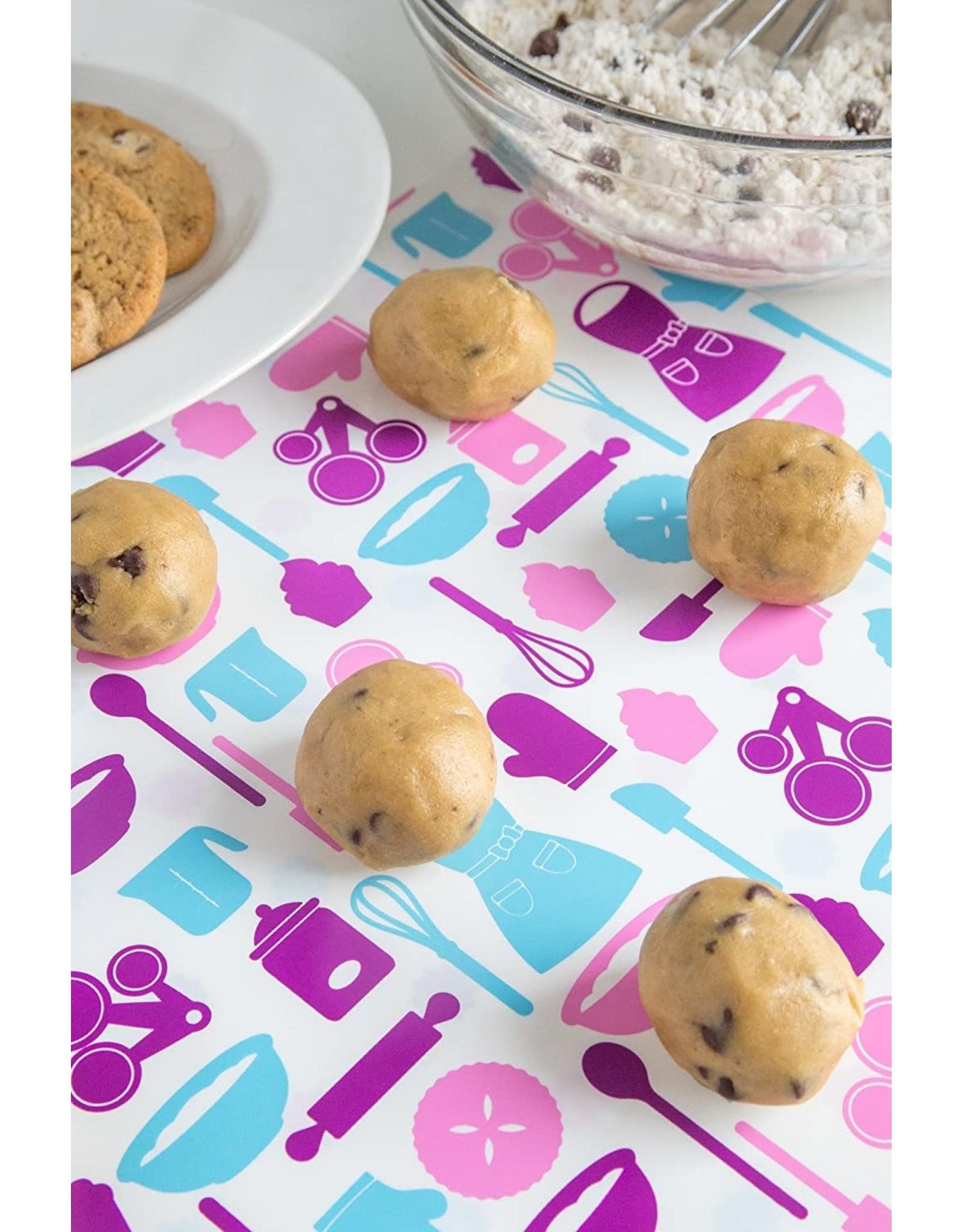 Fox Run BAKELICIOUS Baking Mix 2-Sided Silicone Bake Mat