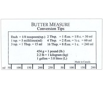 Bakers Butter Ruler