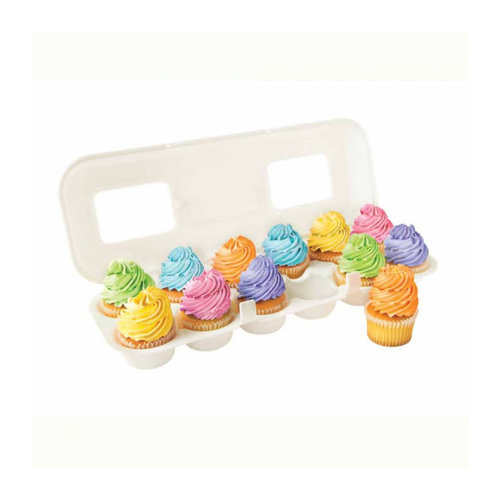 Fox Run CUPCAKE CARTON - WHITE