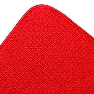 Fox Run Dish Drying mat red
