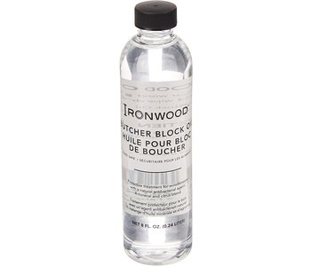 Butcher block oil for salad bowls and cutting boards
