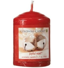 Colonial Candle COLONIAL Votive Holiday Sparkle SCENTED