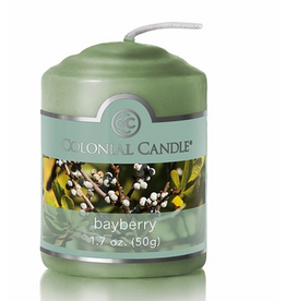 Colonial Candle COLONIAL Votive Bayberry SCENTED