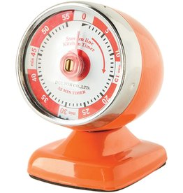 Fox Run Kitchen Timer Streamline Orange