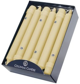 """Colonial Candle COLONIAL Taper Candle 8"""" LIMONCELLO"""
