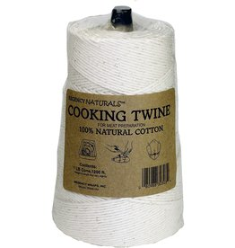 Port-Style TWINE COOKING Natural USA