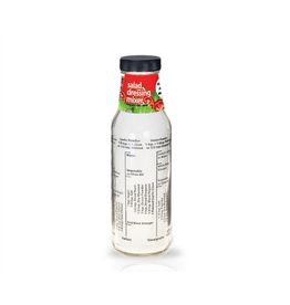 Port-Style SALAD DRESSING BOTTLE ENGLISH
