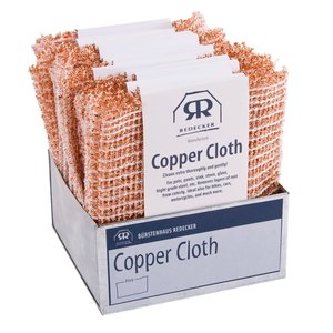 Redecker Copper Cleaning Cloth Set of 2