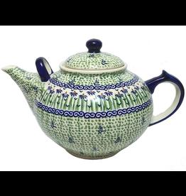 K and U Import Family teapot 2.75L DANCING GARDEN
