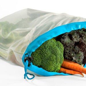 KITCHENBASICS Produce Bags Nylon - Large Set of 2