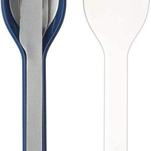 MEPAL MEPAL Ellipse Cutlery Set/3pcs NORDIC DENIM