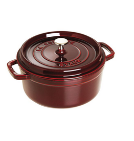 Henckel Dutch oven round 5.5 qt STAUB Grenadine Red