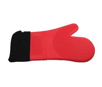 Mitt Silicone 38cm RED