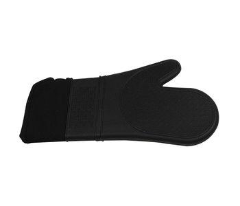 Mitt Silicone 38cm Black