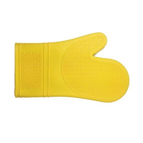 "Port-Style Mitt Silicone 12"" Yellow"