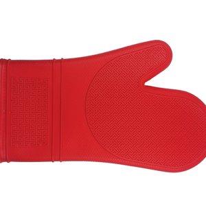 KITCHENBASICS Mitt Silicone 30cm Red