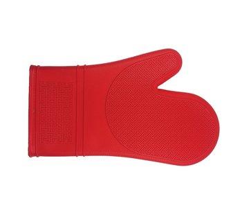 Mitt Silicone 30cm Red