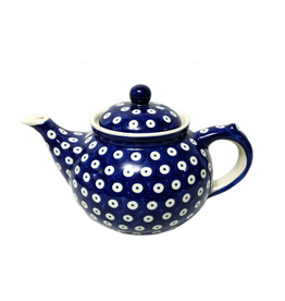 K and U Import Tall teapot 1.5L POLKA DOT