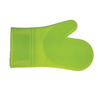 Mitt Silicone 30cm LIME GREEN