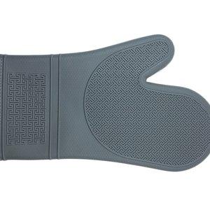"Port-Style Mitt Silicone 12"" Grey"