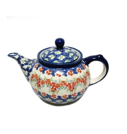 K and U Import Morning teapot 750mL POPPY MEADOW