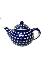 K and U Import Afternoon teapot 1.25L POLKA DOT