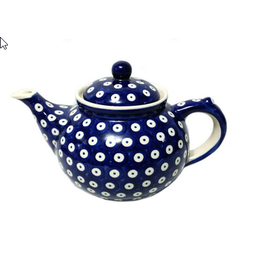 K and U Import Afternoon teapot 1.25L POLKA DOT