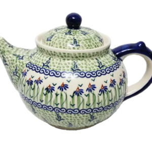 K and U Import Afternoon teapot 1.25L DANCING GARDEN