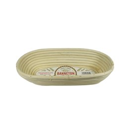 Port-Style BANNETON Oval Basket 11.4x5x3""