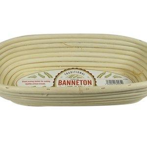 """BANNETON BANNETON Oval Basket 11.5x5x3"""""""